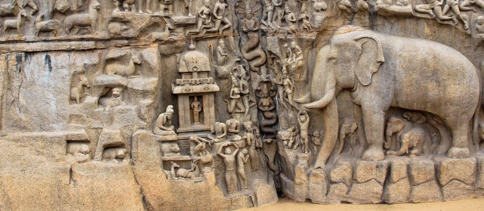 Destination Mamallapuram South India