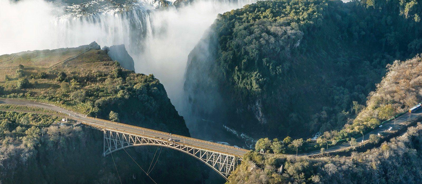 Reiseziel Victoriafälle Sambia Sambia