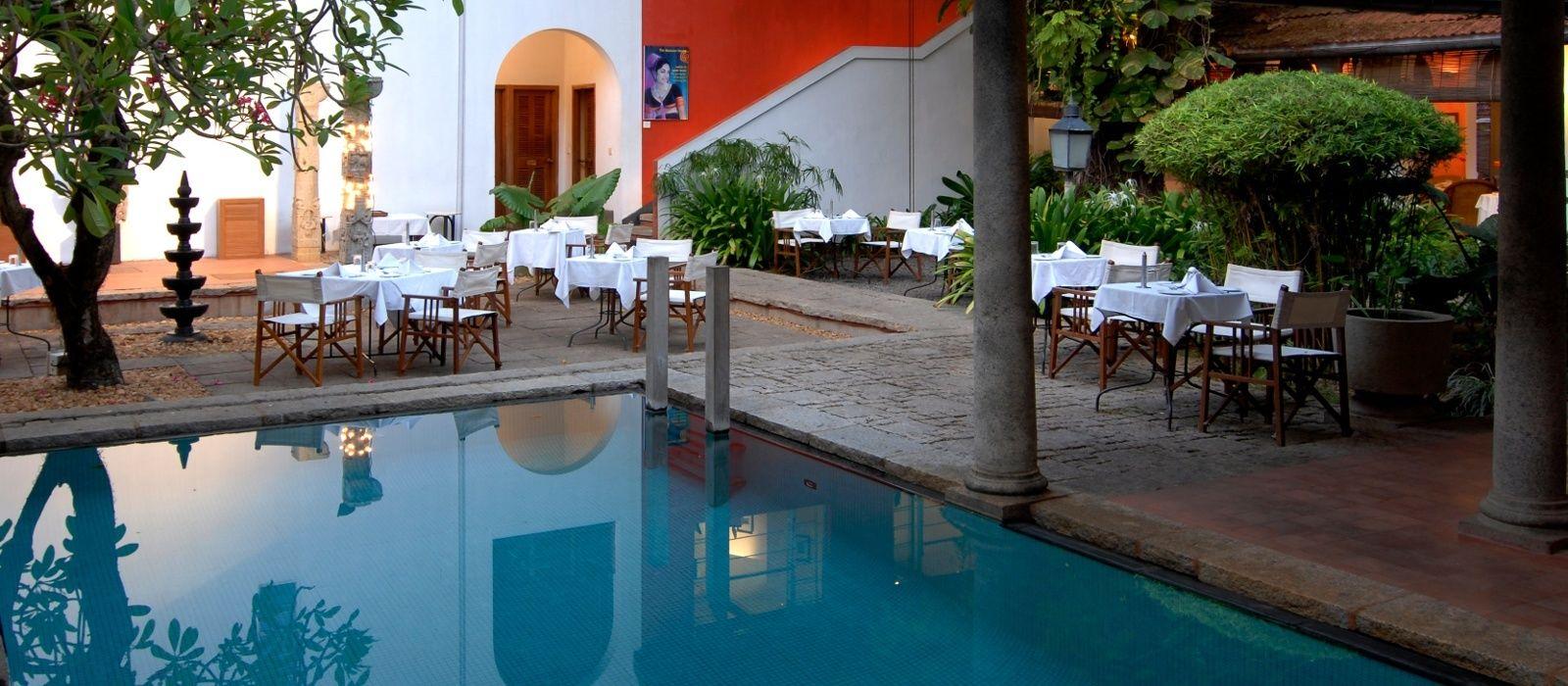 Hotel Malabar House Südindien