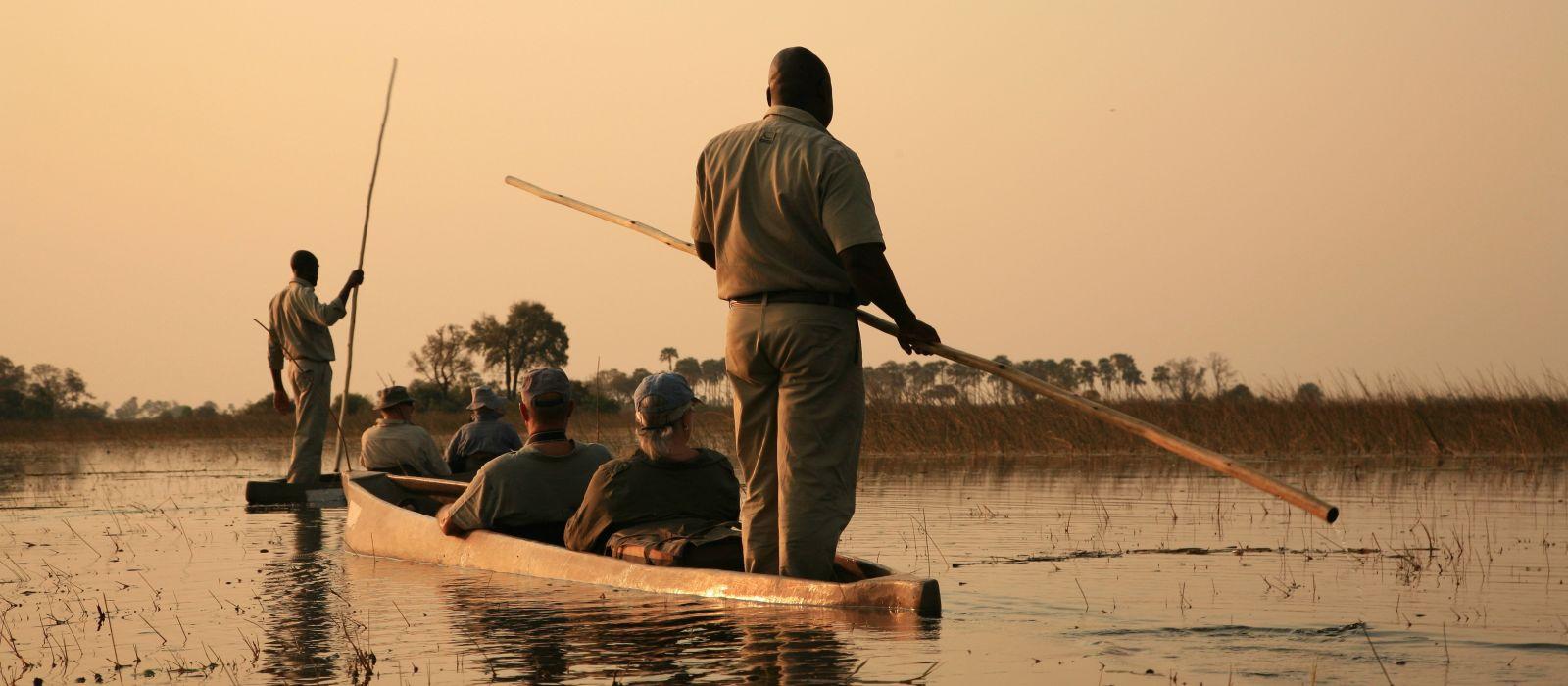 Naturreise in Simbabwe & Botswana: Wasserfälle & Wasserwege Urlaub 1