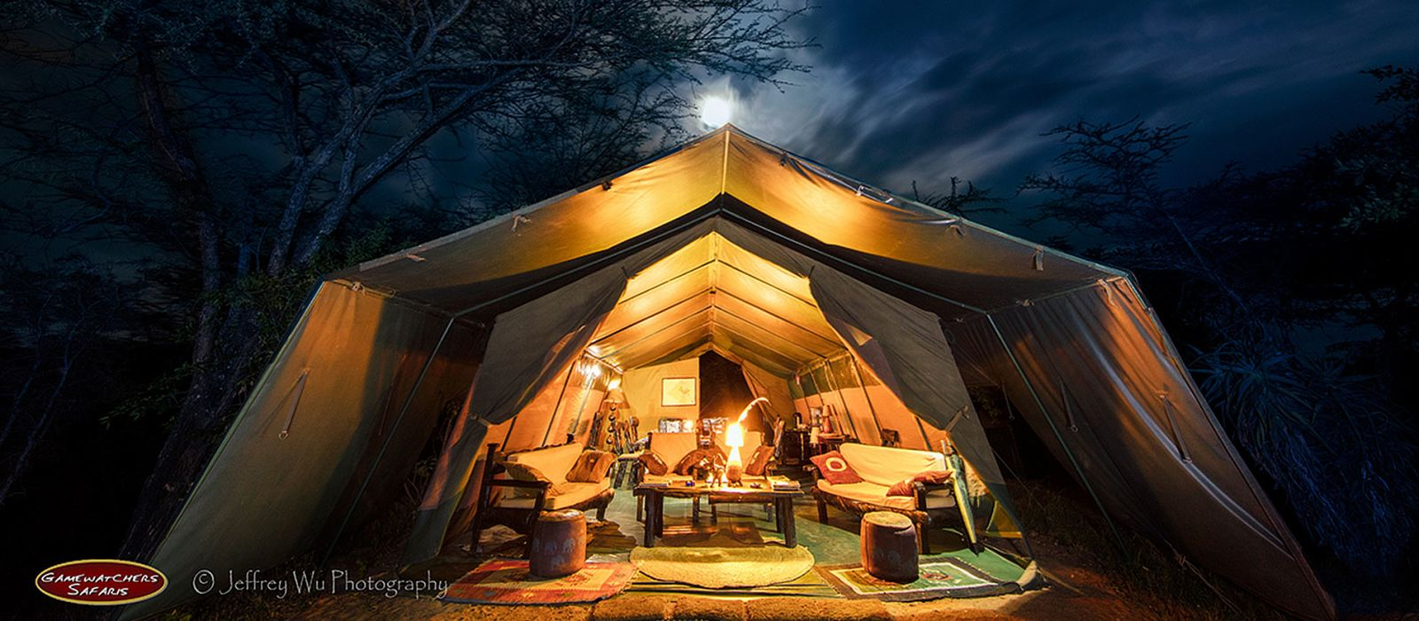 Hotel Masai Mara Porini Adventure Camp Kenia