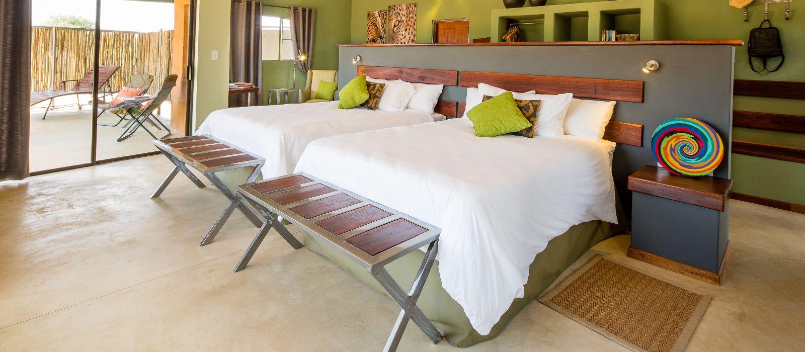 Hotel Okonjima Plains Camp Namibia