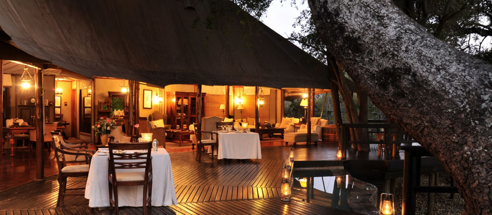 Hotel Hamiltons Tented Camp South Africa