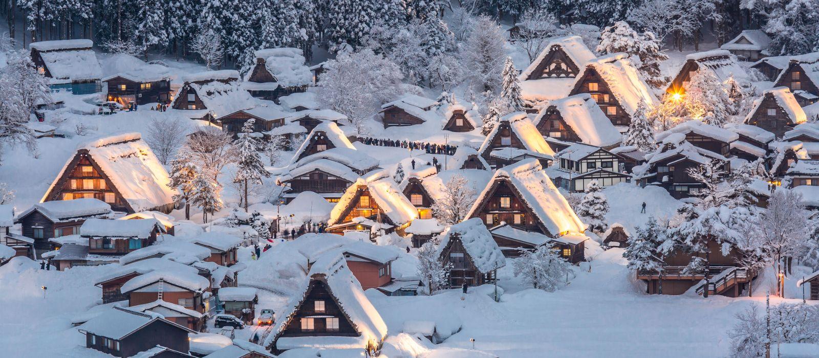 Reiseziel Shirakawa-gō Japan