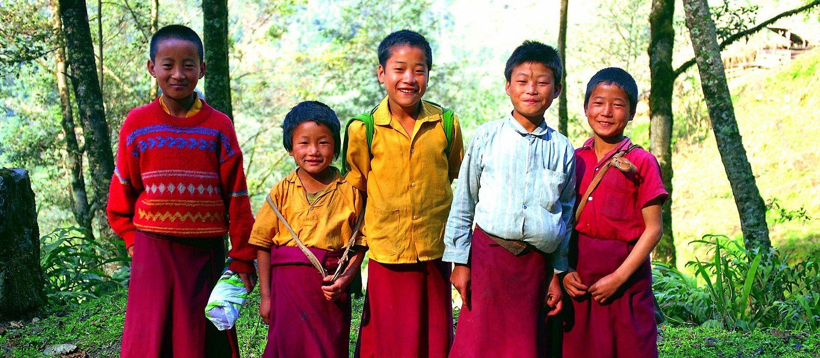 Auf dem Dach der Welt – Höhepunkte von Nepal & Bhutan Urlaub 2