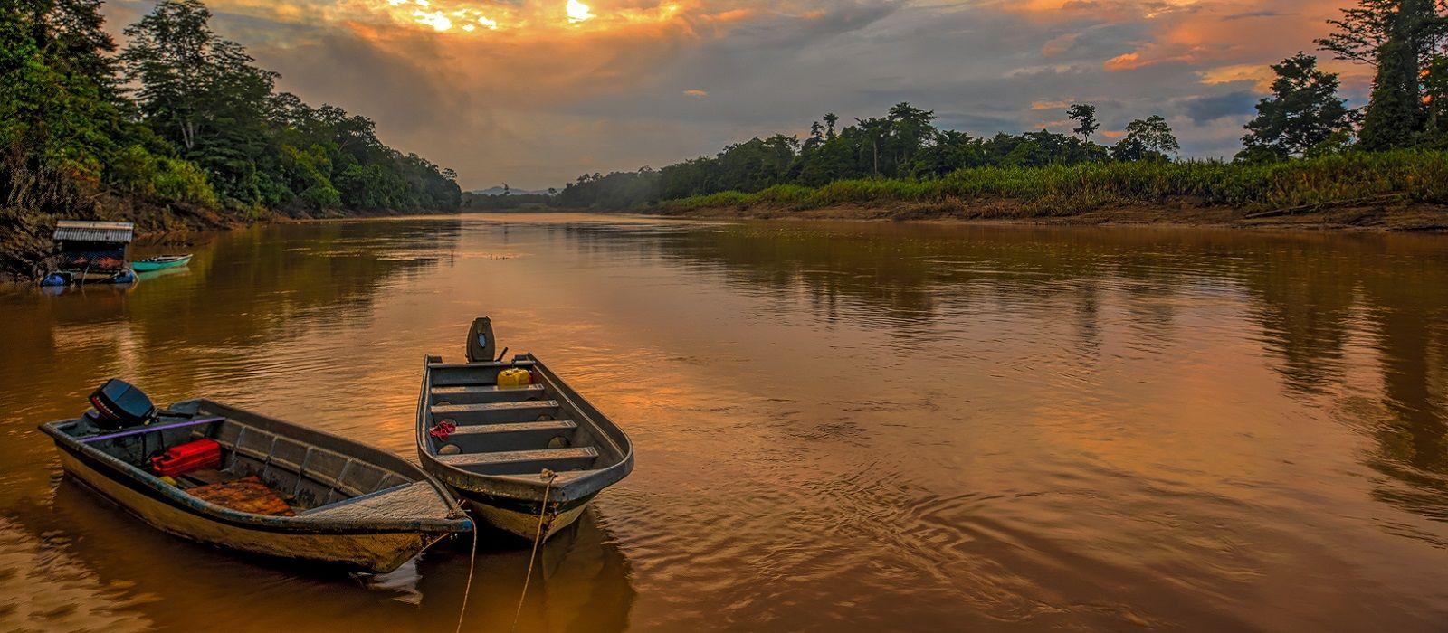 Wildnis und Strände Malaysias Urlaub 2
