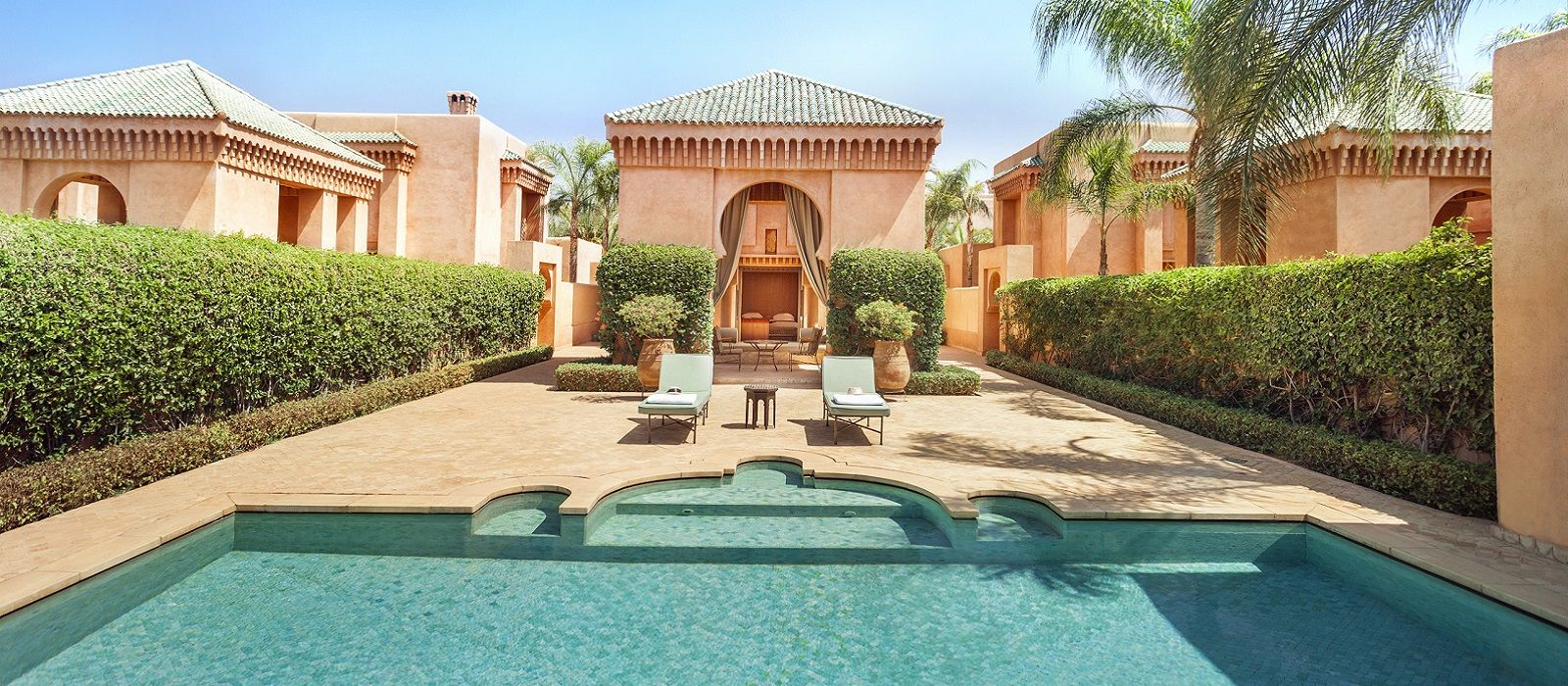 Hotel Amanjena Marokko