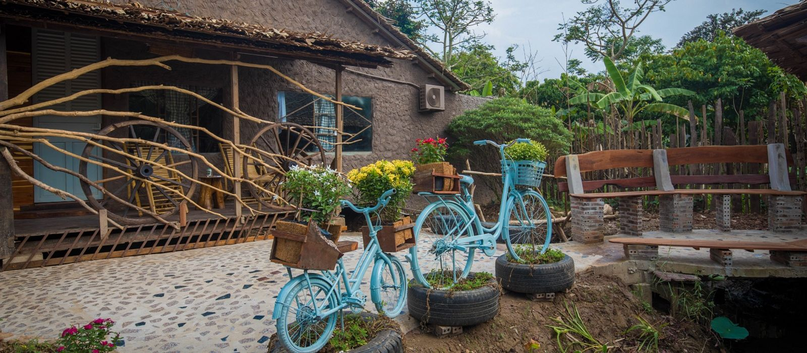 Hotel Mekong Rustic Can Tho Vietnam