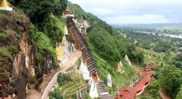 Reiseziel Pindaya Myanmar