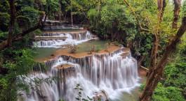 Reiseziel Kanchanaburi Thailand