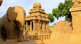 Mamallapuram Sur de India