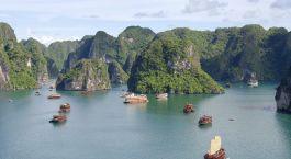 Reiseziel Halong Bucht Vietnam