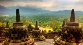 Reiseziel Borobudur Indonesien