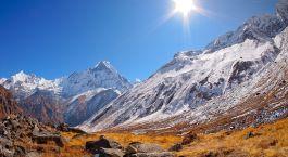 Reiseziel Annapurna Region Nepal