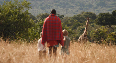 Example private tour: Kenya: Walking Safari and Beach
