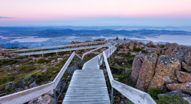 Example private tour: Tasmania Overland
