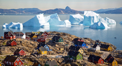 Example private tour: Essential Greenland: Southern Coasts and Disko Bay