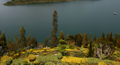 Lake Kivu (Gisenji) in Ruanda