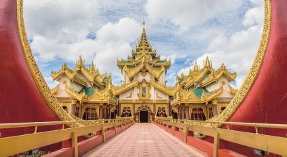Yangon in Myanmar