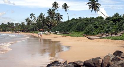 Negombo in Sri Lanka