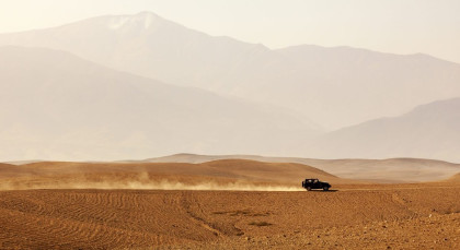 Agafay Wüste in Marokko