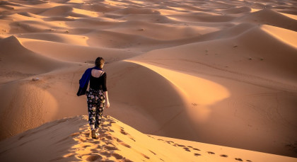 Destination Merzouga in Morocco