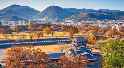 Kumamoto in Japan