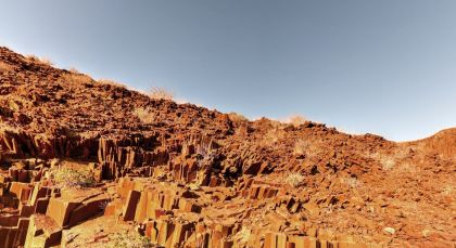 Destination Damaraland (Twyfelfontein) in Namibia
