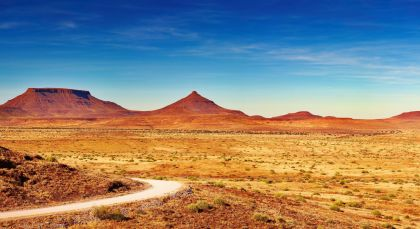 Reiseziel Damaraland (Twyfelfontein) in Namibia