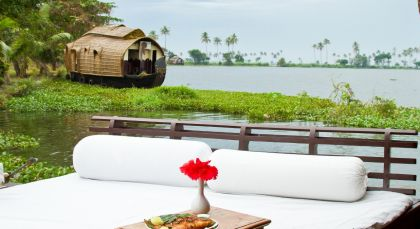 Destination Alleppey Houseboat in South India