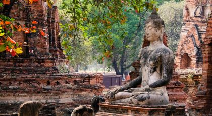 Destination Ayutthaya in Thailand