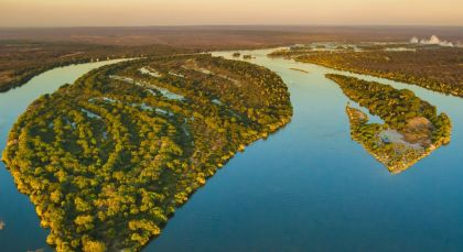 Lower Zambezi in Sambia
