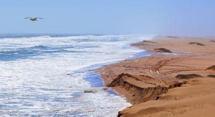 Skeleton Coast in Namibia