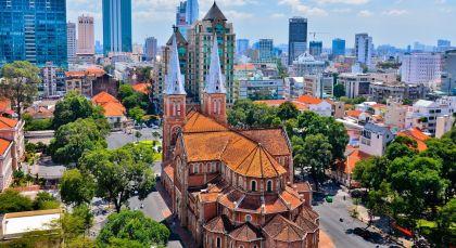 Ho Chi Minh Stadt (Saigon) in Vietnam