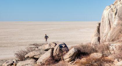 Destination Kalahari Salt Pans in Botswana