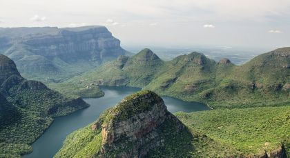 Blyde River Canyon in Südafrika