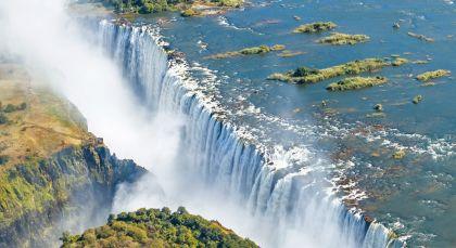 Viktoriafälle (Simbabwe) in Simbabwe