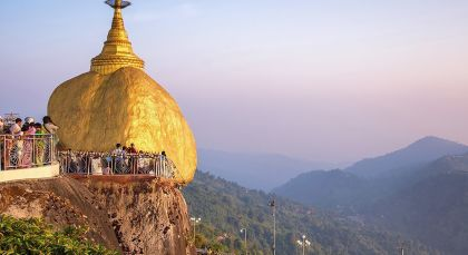 Destination Kyaiktiyo in Myanmar