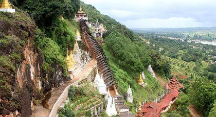 Pindaya in Myanmar