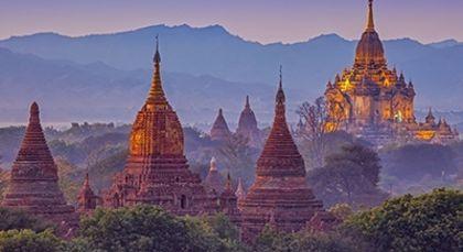 Myanmar in Asien