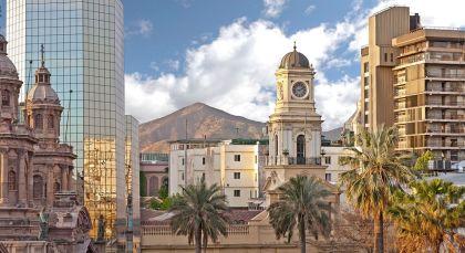 Reiseziel Santiago de Chile in Chile