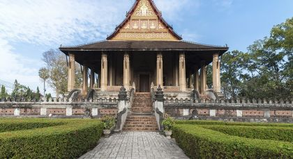 Reiseziel Vientianne in Laos
