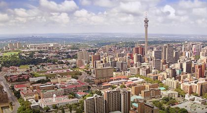 Destination Johannesburg in South Africa