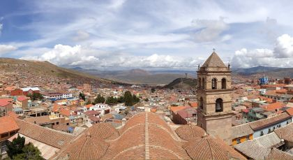 Destination Potosi in Bolivia