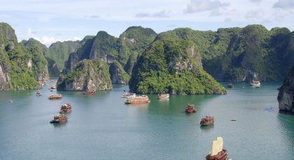 Reiseziel Halong Bucht in Vietnam
