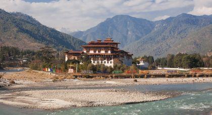 Reiseziel Punakha in Bhutan
