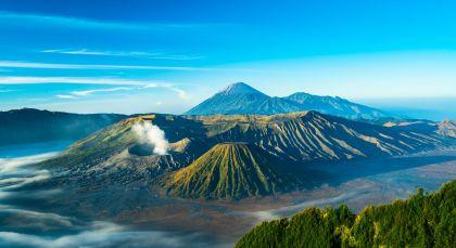 Mount Bromo in Indonesien