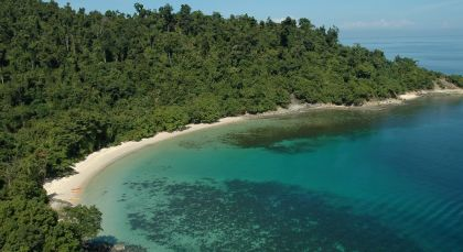 Destination Kota Kinabalu Beach in Malaysia