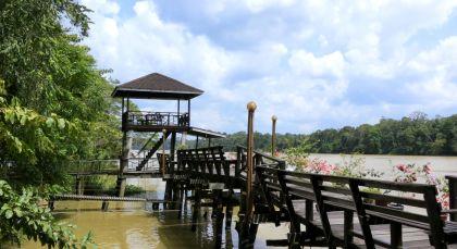Reiseziel Sukau, Kinabatangan Fluss in Malaysia