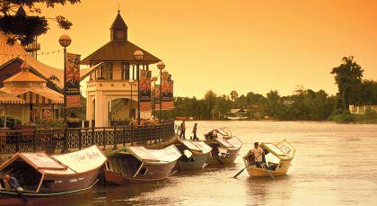 Destination Kuching in Malaysia